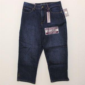 Gloria Vanderbilt Amanda Capri Scottsdale Jeans 8